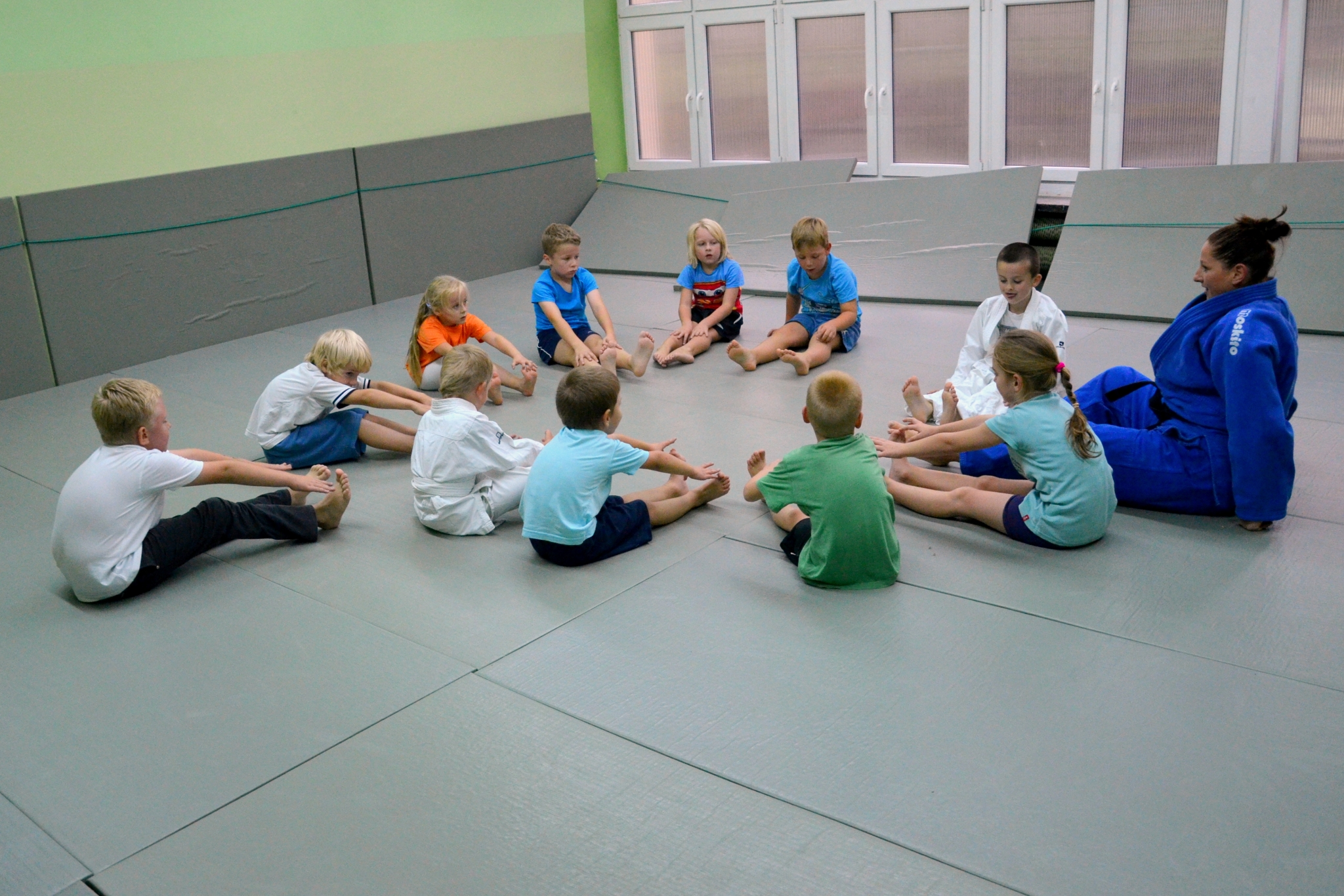 Wspaniały Judo dzieci 5-9 lat - sala przy ul. Janickiego - trenerka Joanna FL02